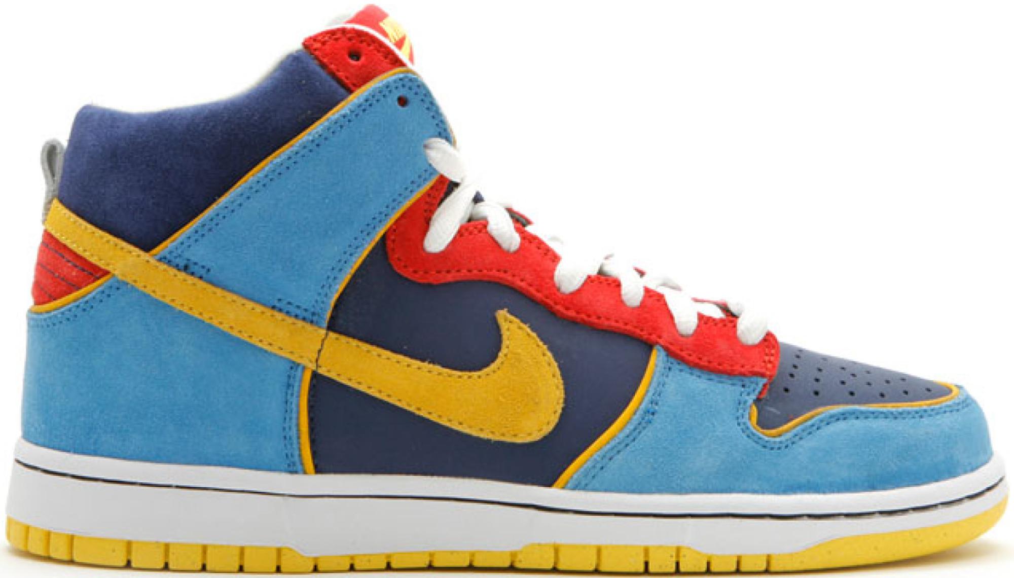 Nike SB Dunk High Pacman