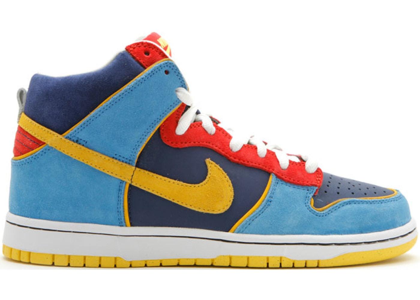 buy online e67bf e73a9 Nike SB Dunk High Pacman - 305050-471