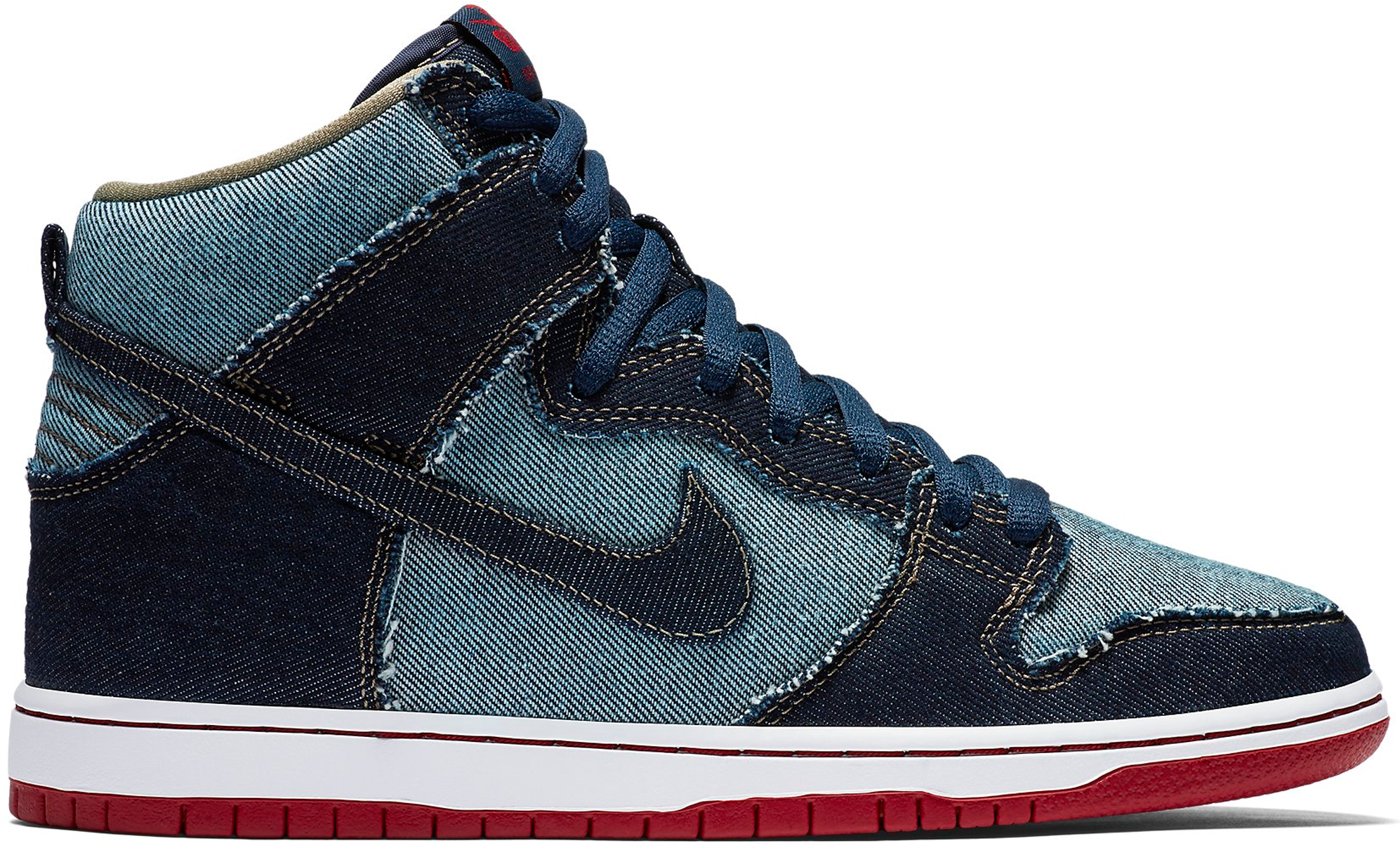 sports shoes 1c0a4 64729 ... norway nike sb dunk high reese forbes denim 881758 441 d9824 7bb37