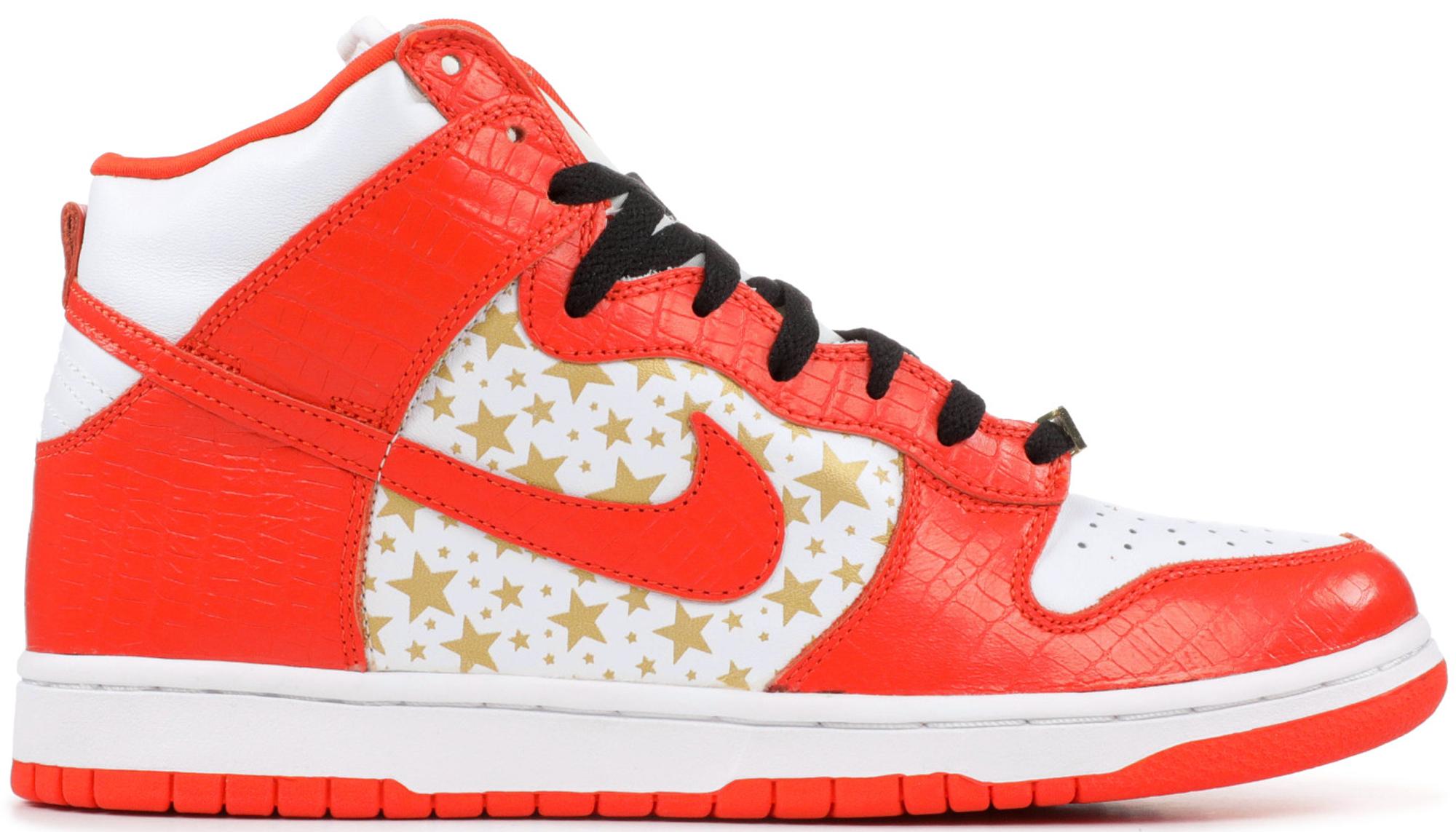 Nike SB Dunk High Supreme Orange
