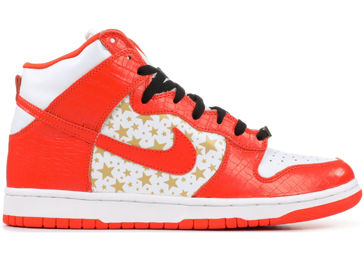 huge discount d6169 a0630 Nike SB Dunk High Supreme Orange
