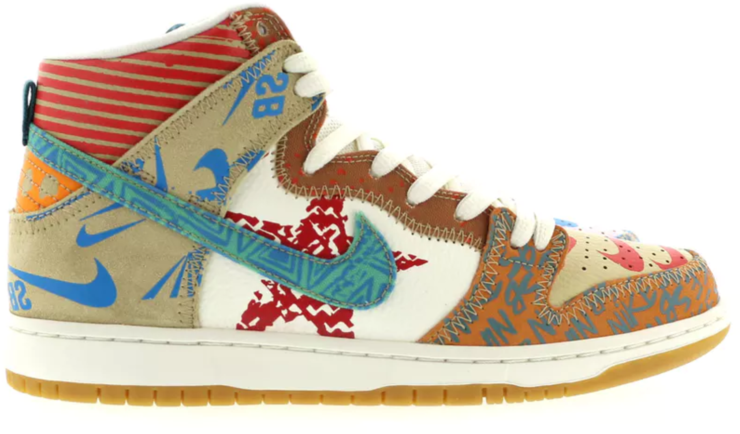 Nike SB Dunk High Thomas Campbell What The Dunk (Special Box)