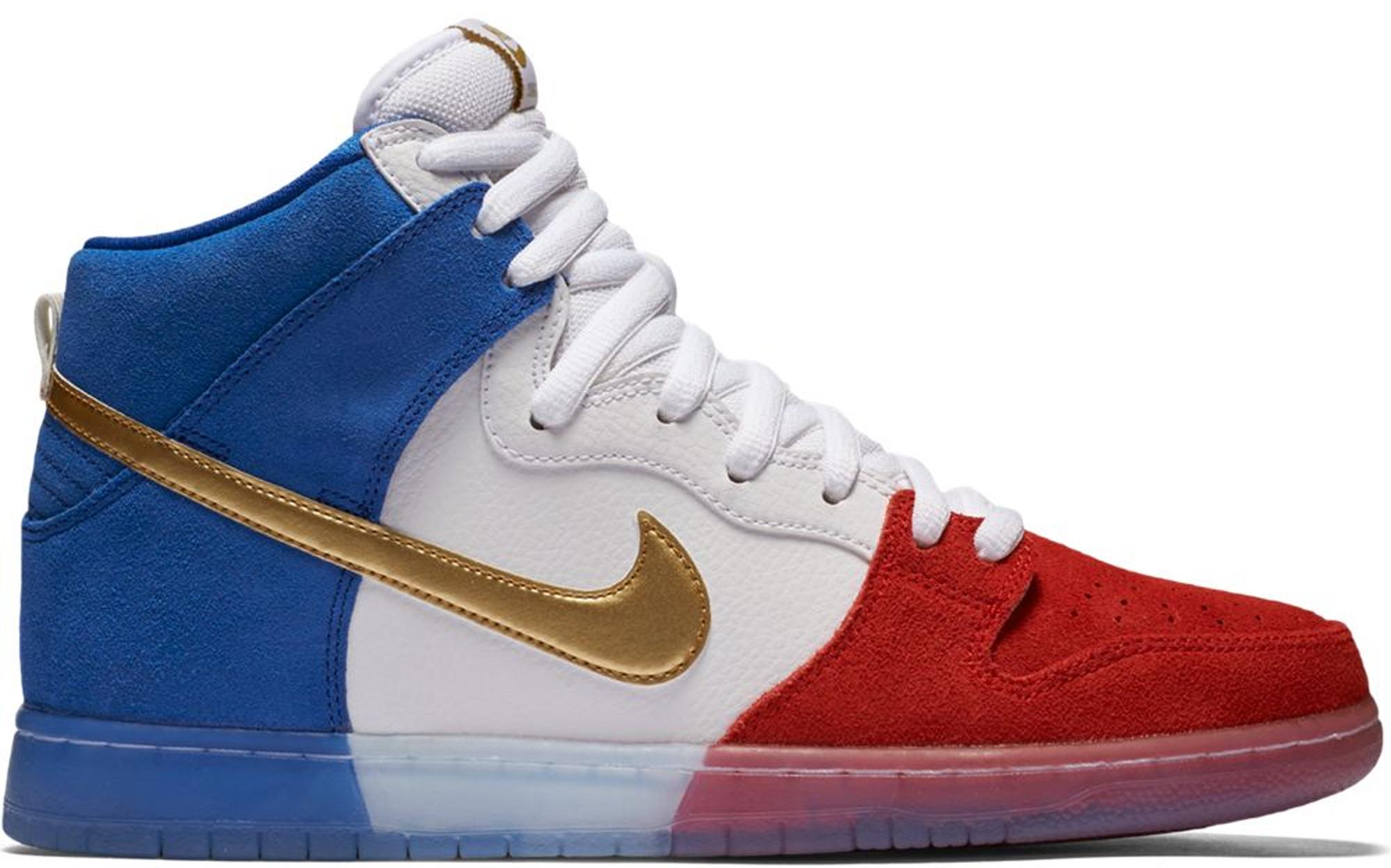 Nike SB Dunk High Tricolor (USA)