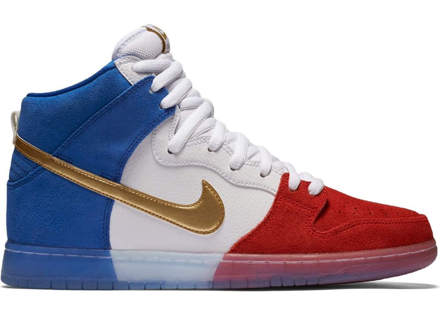 various colors ddee3 a8278 Nike SB Dunk High Tricolor (USA)
