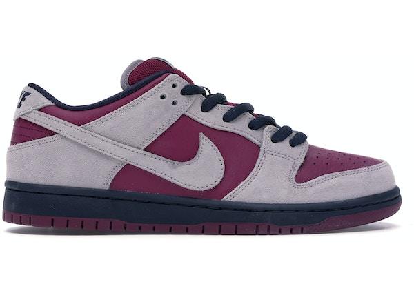 timeless design a95e8 70c2b Nike SB Dunk Low Atmosphere Grey True Berry