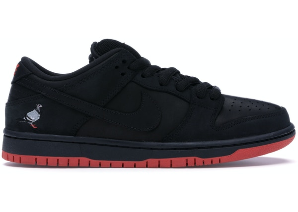 df821396cc2c Nike SB Dunk Low Black Pigeon - 883232-008