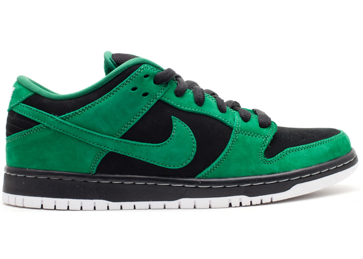 official photos 06ce9 5df53 Nike SB Dunk Low Black Pine Green