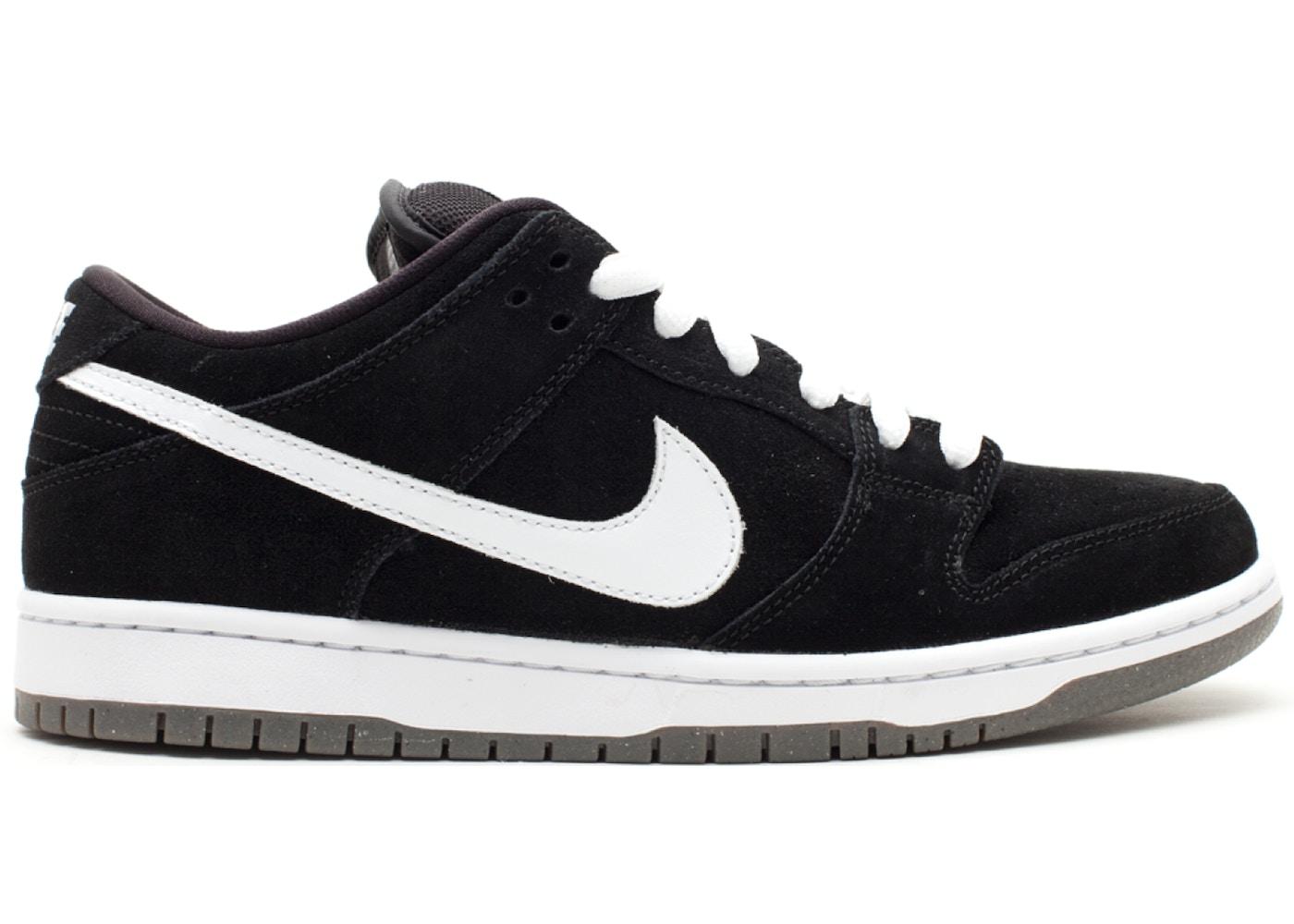 Nike SB Dunk Low Black White (2011)