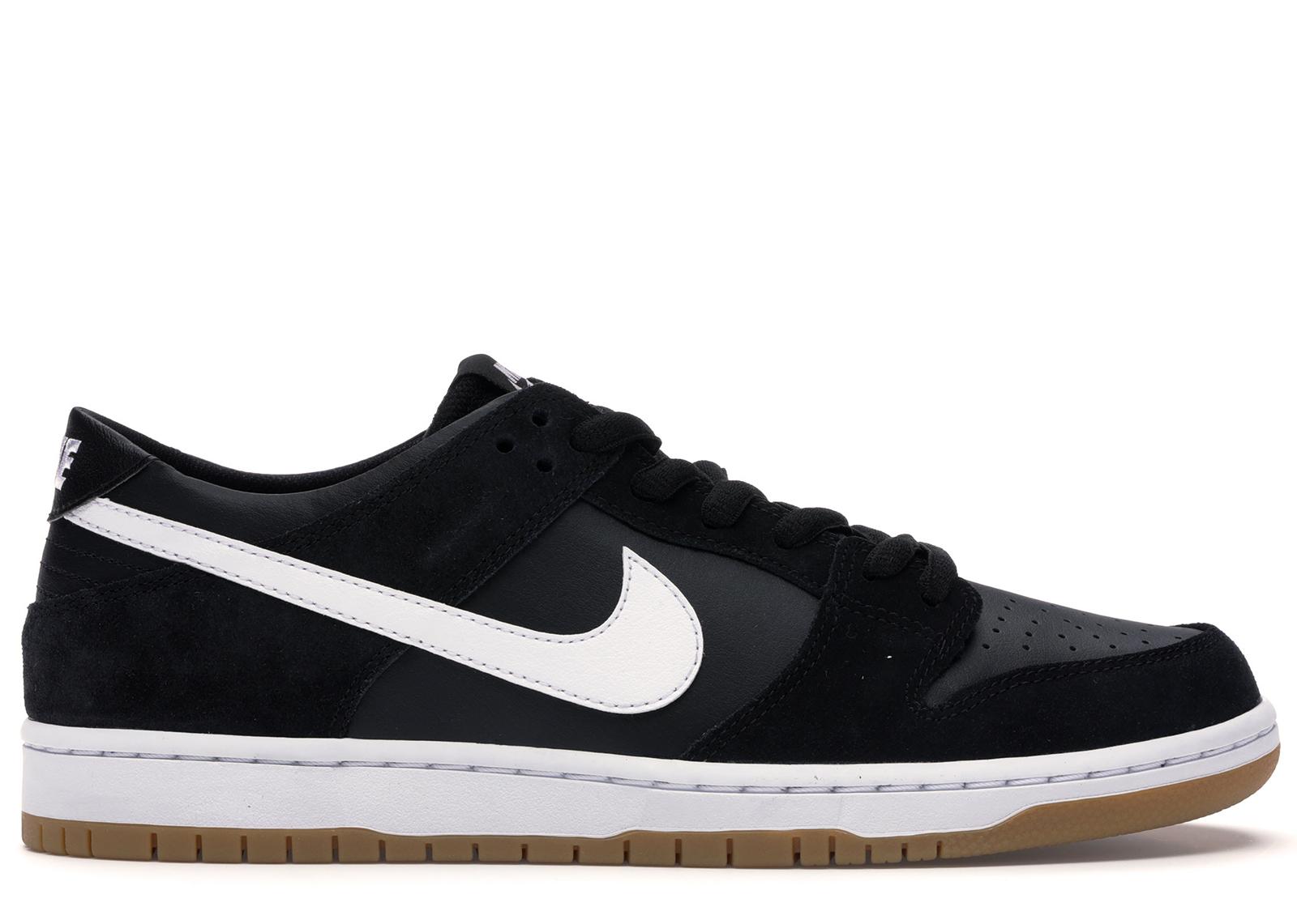 Nike SB Dunk Low Black White Gum