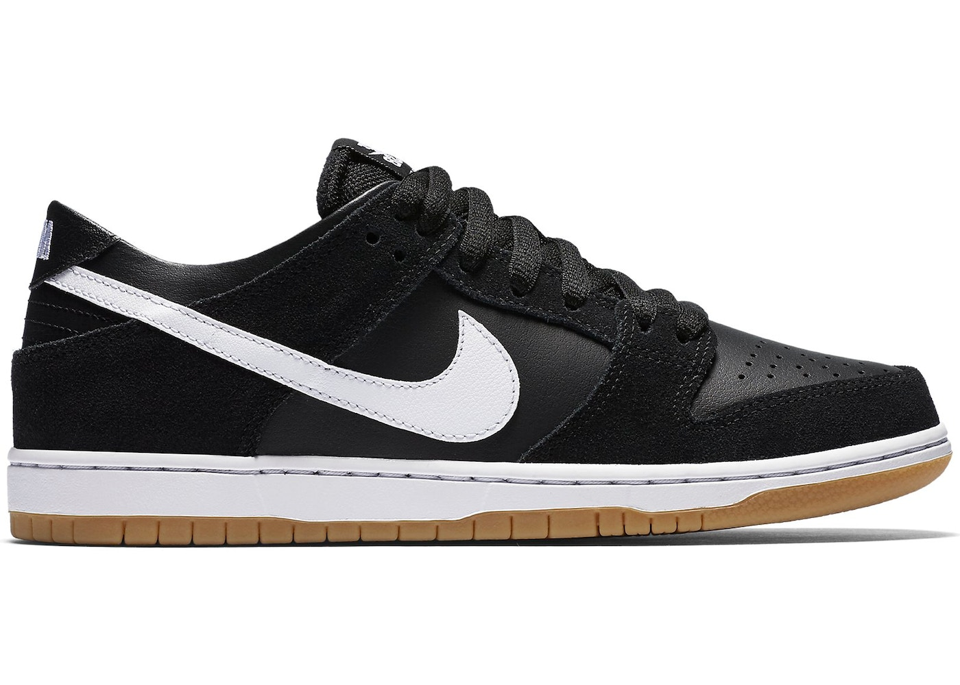official photos 25212 7ffc7 SB Dunk Low Black White Gum