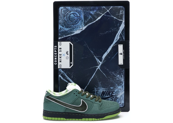 size 40 a14af 82633 Nike SB Dunk Low Concepts Green Lobster (Special Box)