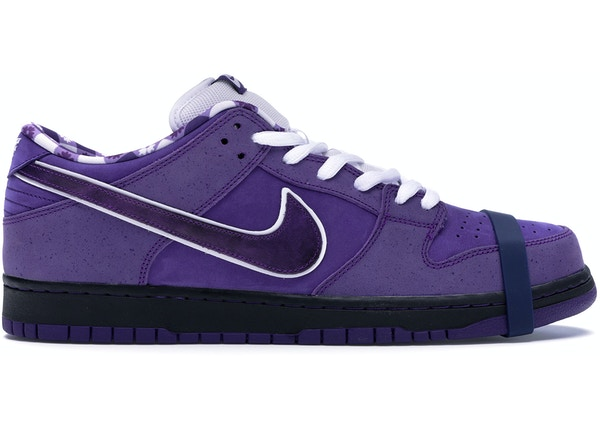 c3351fcb7427 Nike SB Dunk Low Concepts Purple Lobster