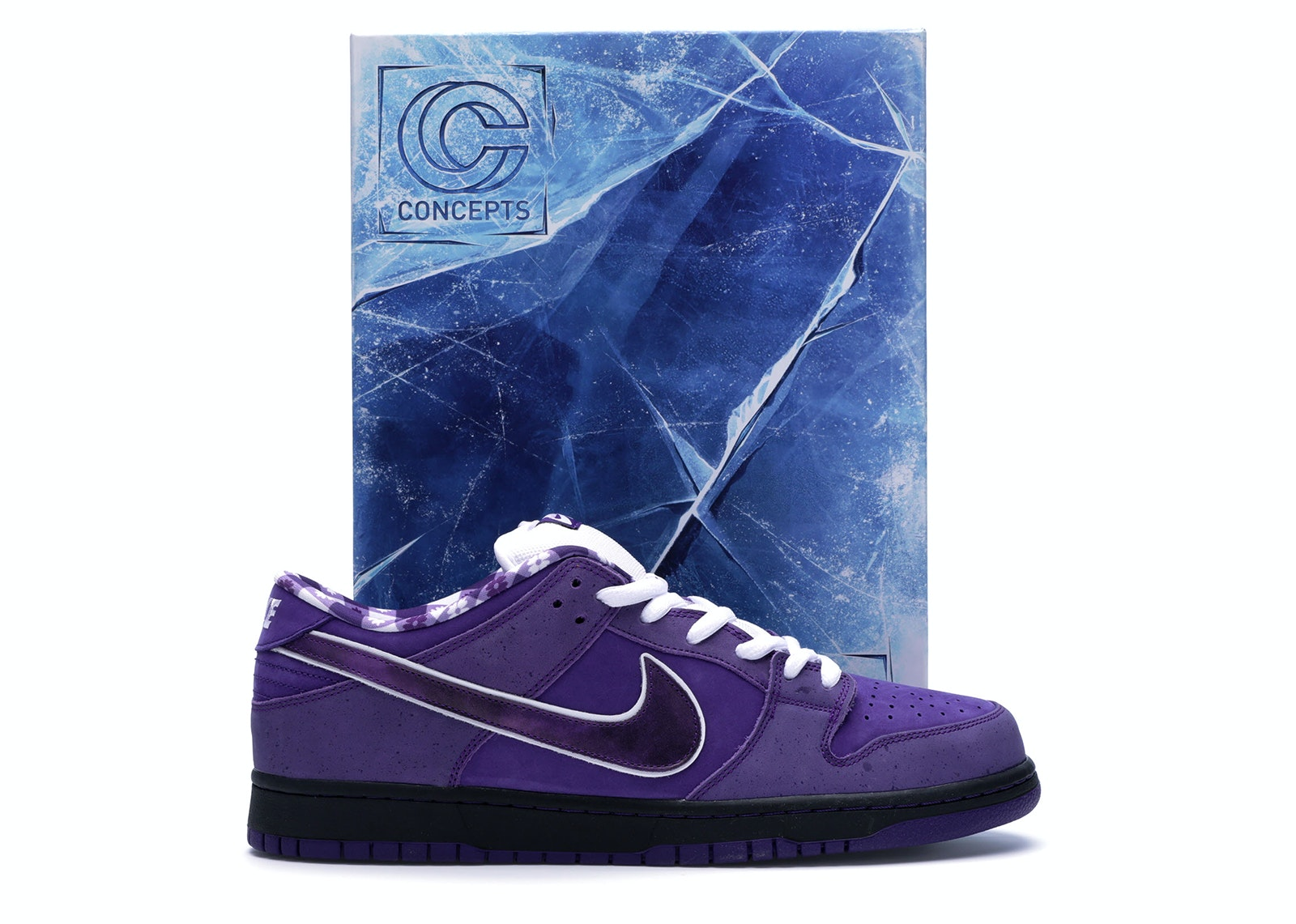 Nike SB Dunk Low Concepts Purple Lobster (Special Box)