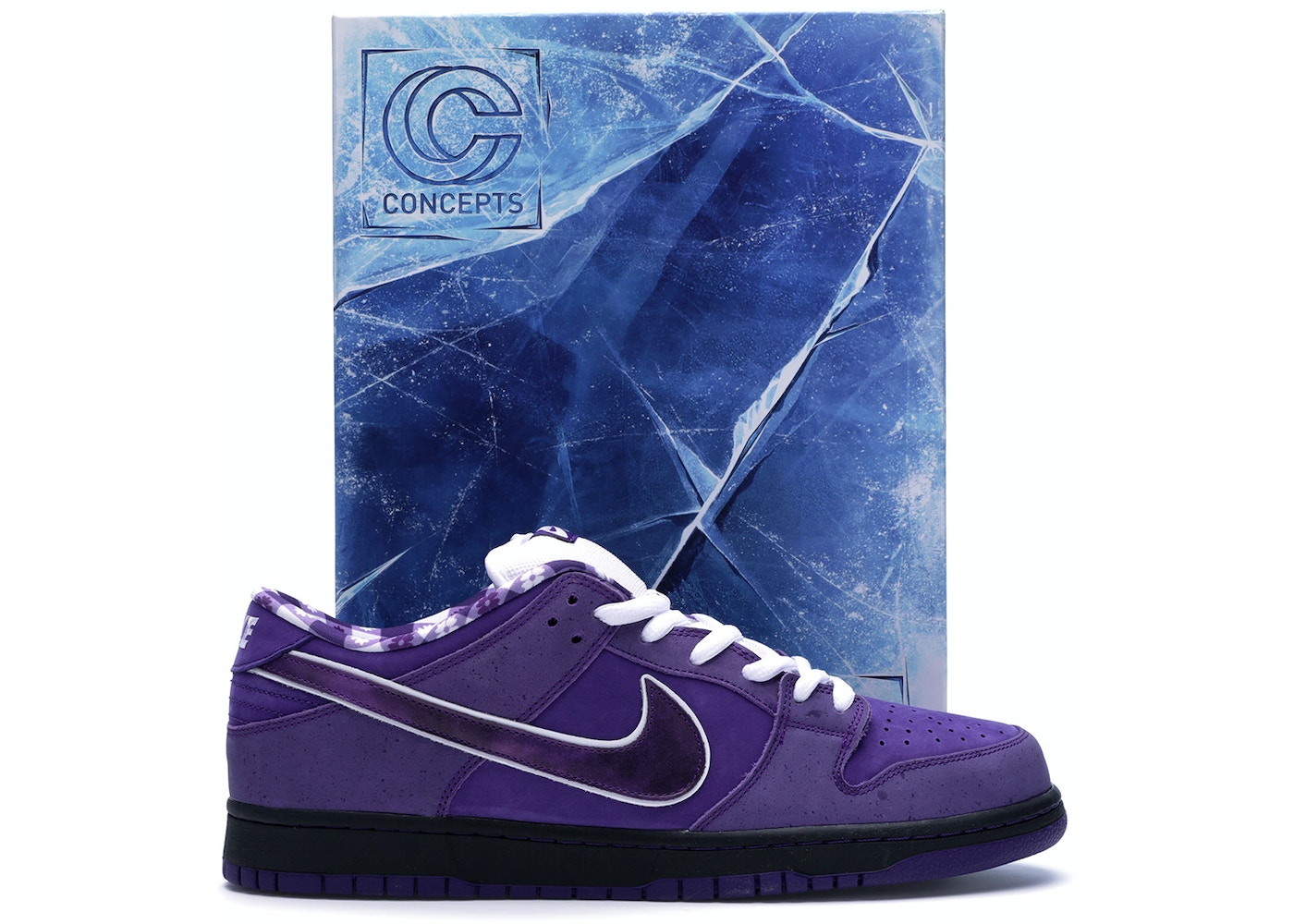 the latest 7ce76 68a62 Nike SB Dunk Low Concepts Purple Lobster (Special Box)