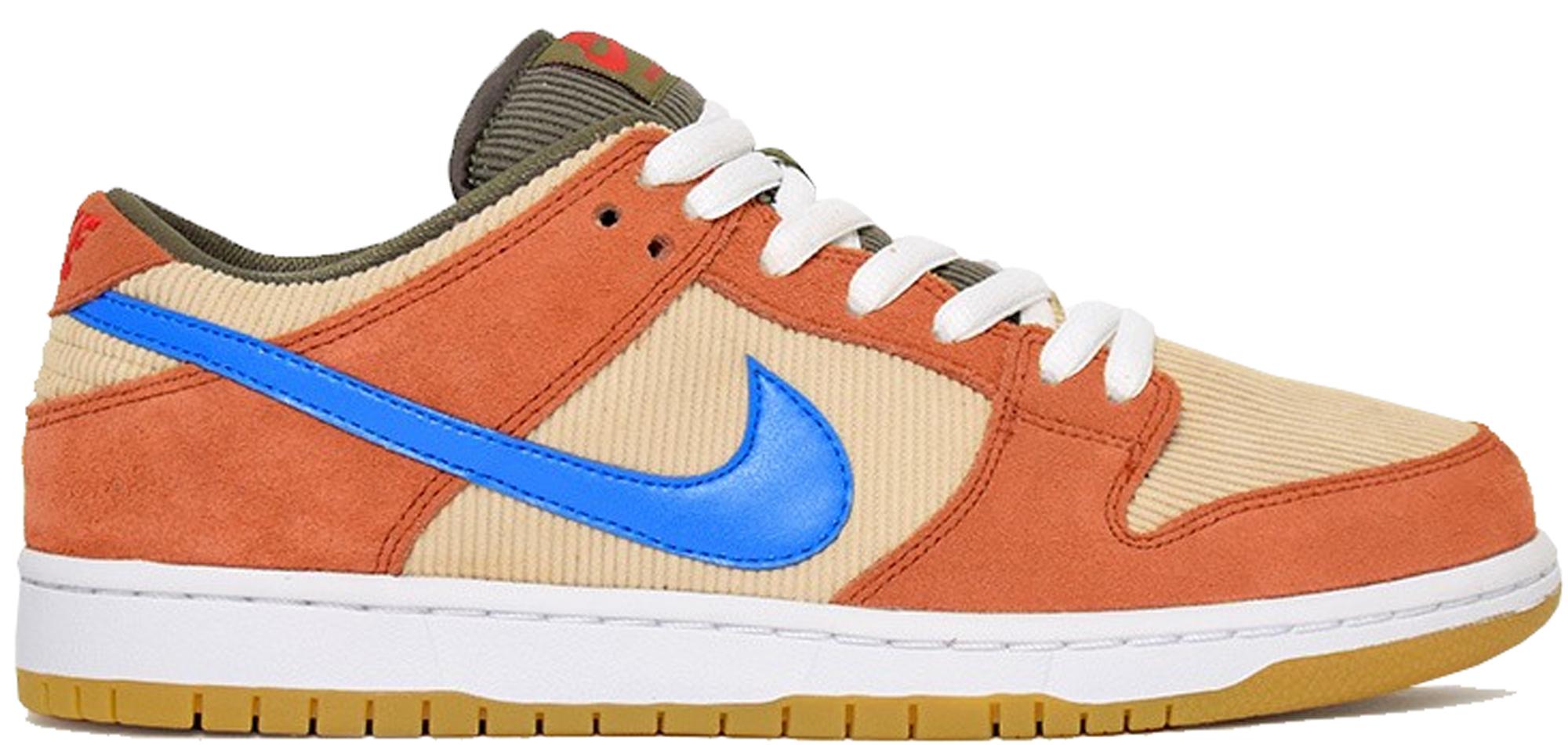 Nike SB Dunk Low Corduroy Dusty Peach