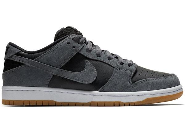 hot sales 25836 0a097 Nike SB Dunk Low Dark Grey Black Gum - AR0778-001