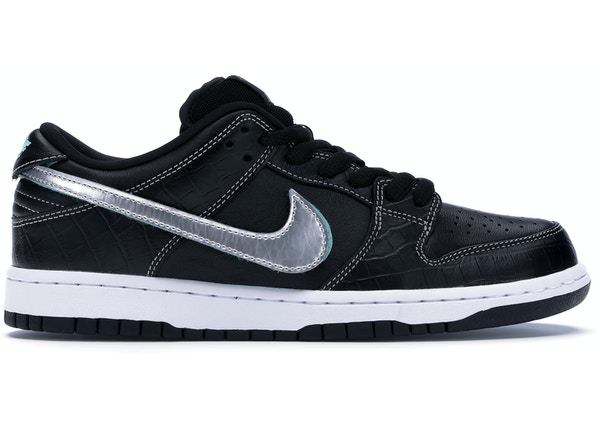 promo code 14c9d 74d27 Nike SB Dunk Low Diamond Supply Co Black Diamond