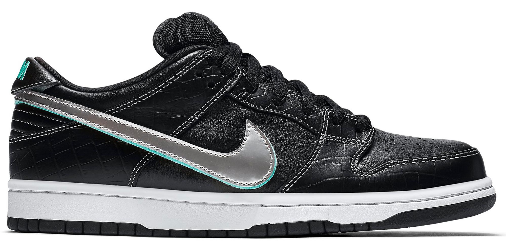 Nike SB Dunk Low Diamond Supply Co Black Diamond