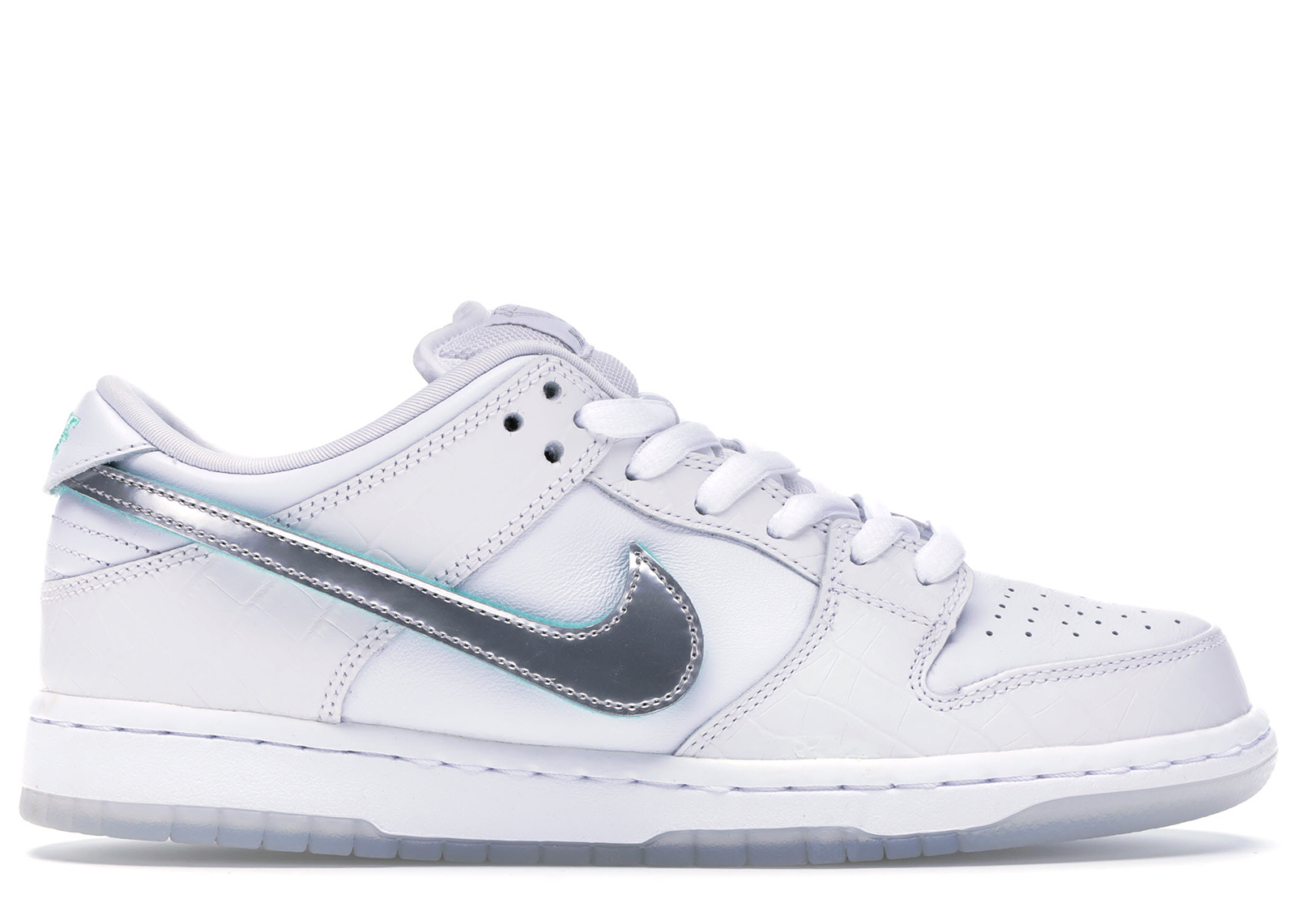 Nike SB Dunk Low Diamond Supply Co White Diamond - BV1310-100