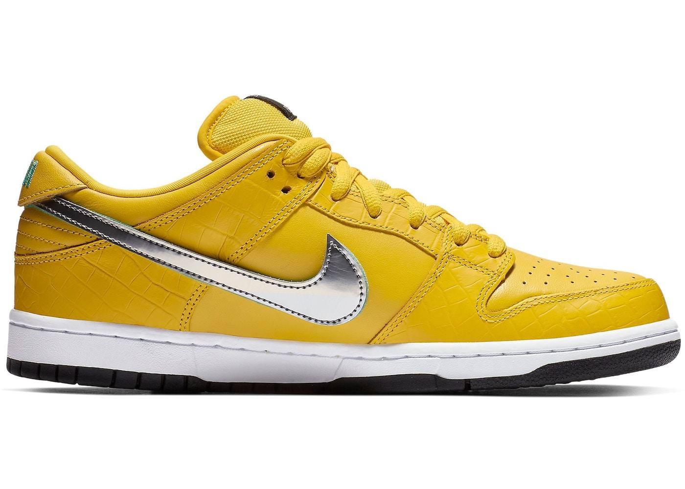 Nike SB Dunk Low Diamond Supply Co Yellow Diamond