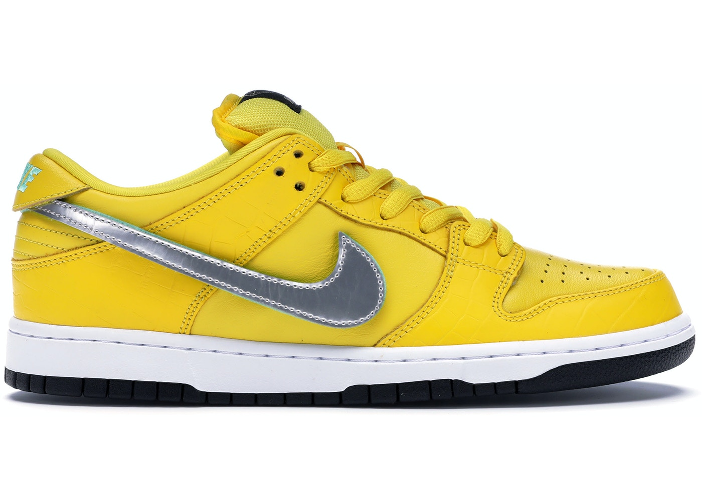 best sneakers d930b 2ec83 Nike SB Dunk Low Diamond Supply Co Canary Diamond (Friends and Family)