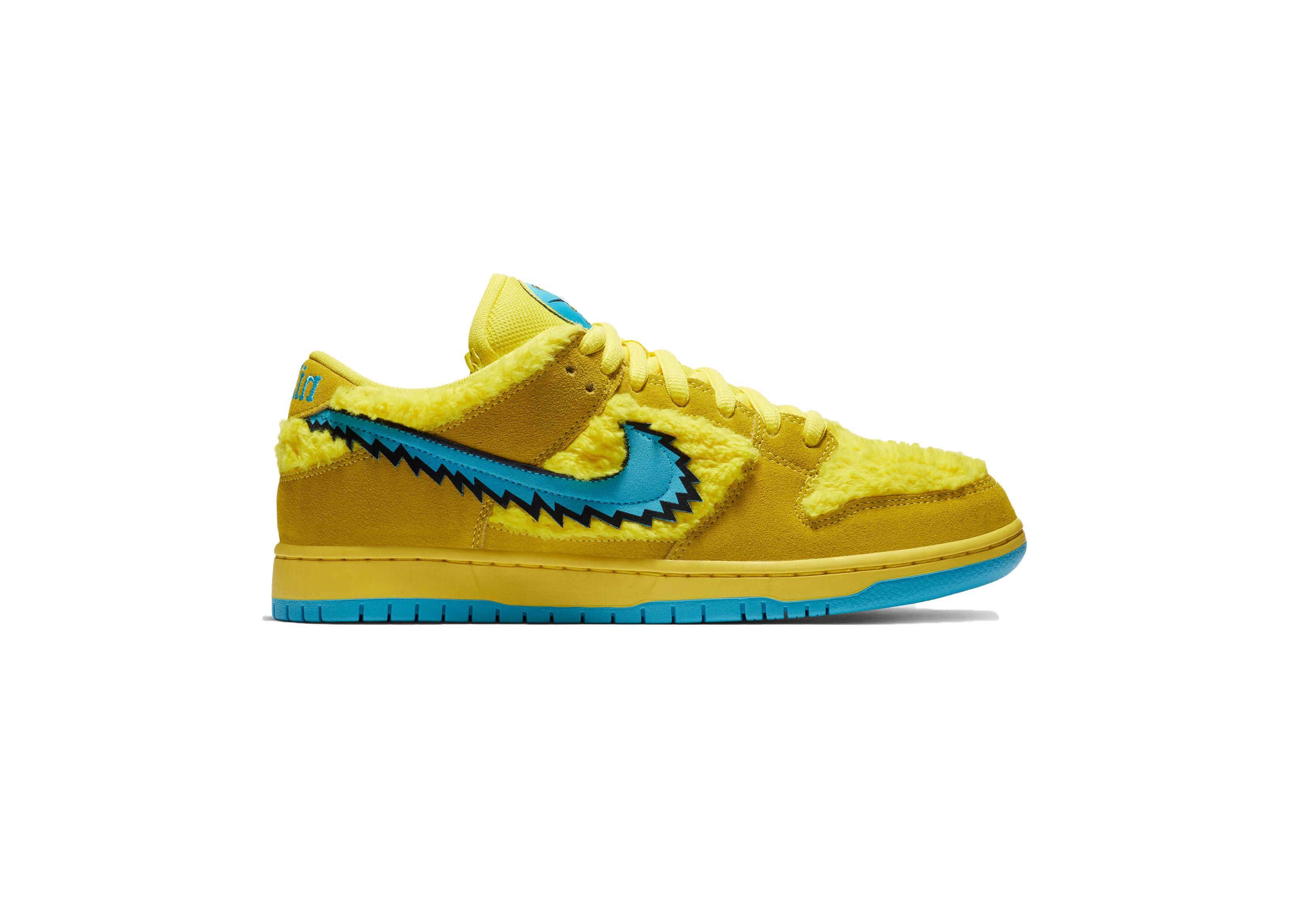 nike sb yellow