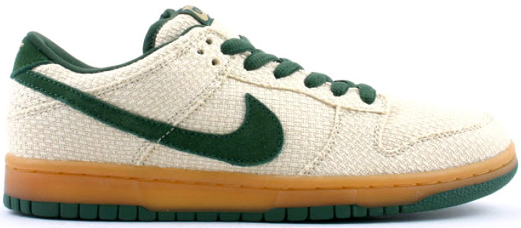 Nike SB Dunk Low Green Hemp - 304292-732