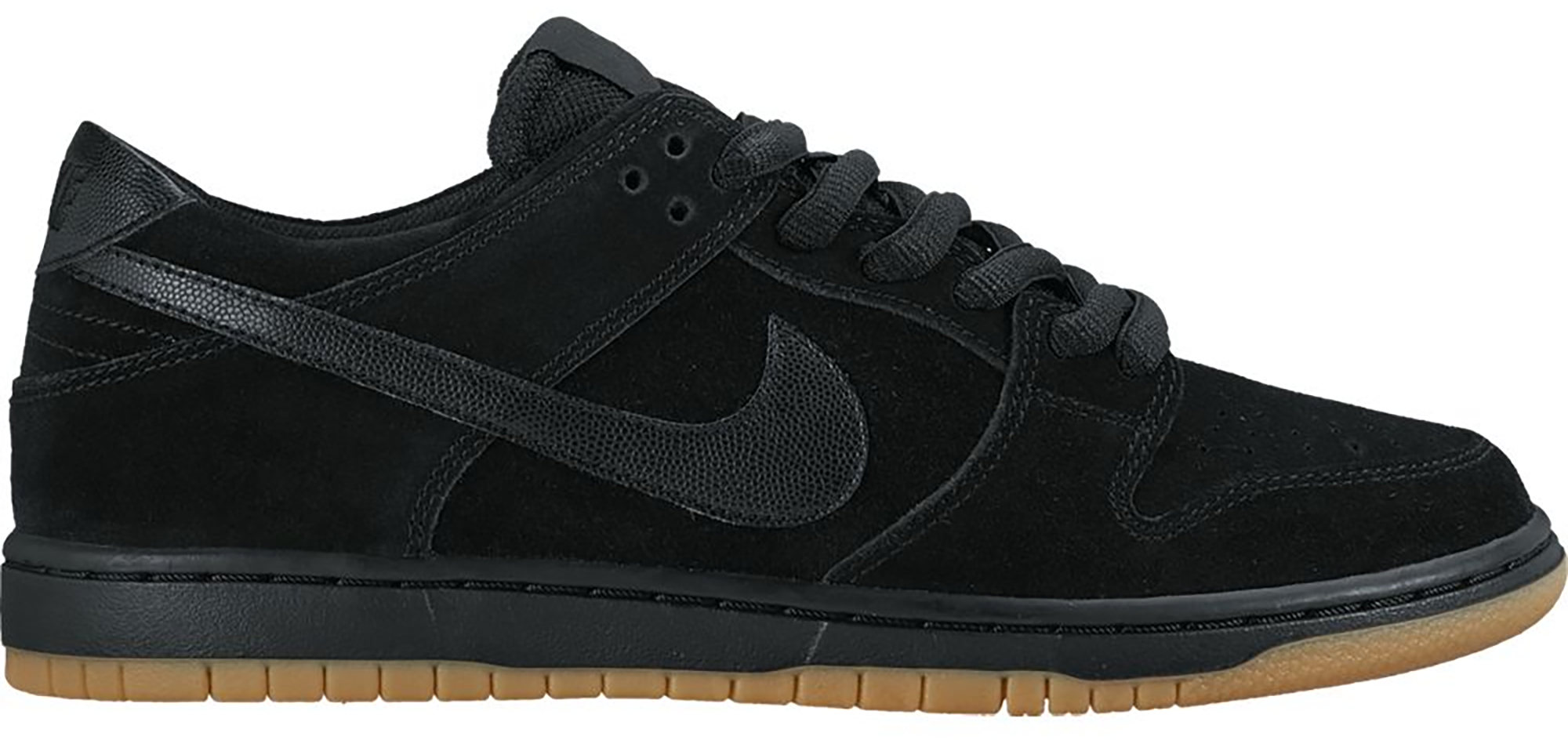 Nike SB Dunk Low IW Black Gum - 819674-002