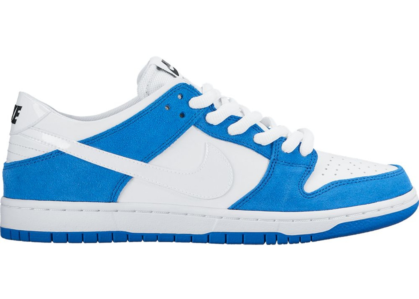 blue and white nike dunks