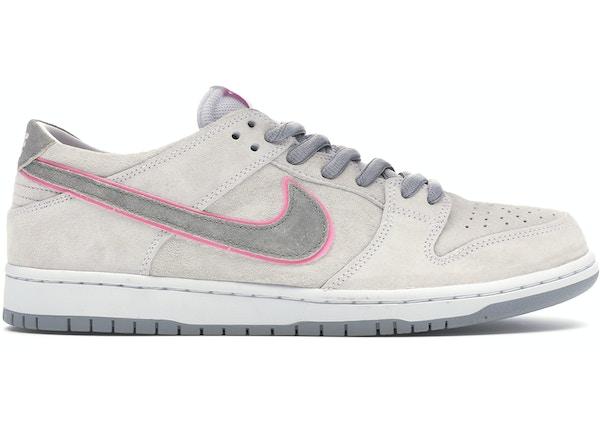ecec27c26f36 Nike SB Dunk Low Ishod Wair Flat Silver