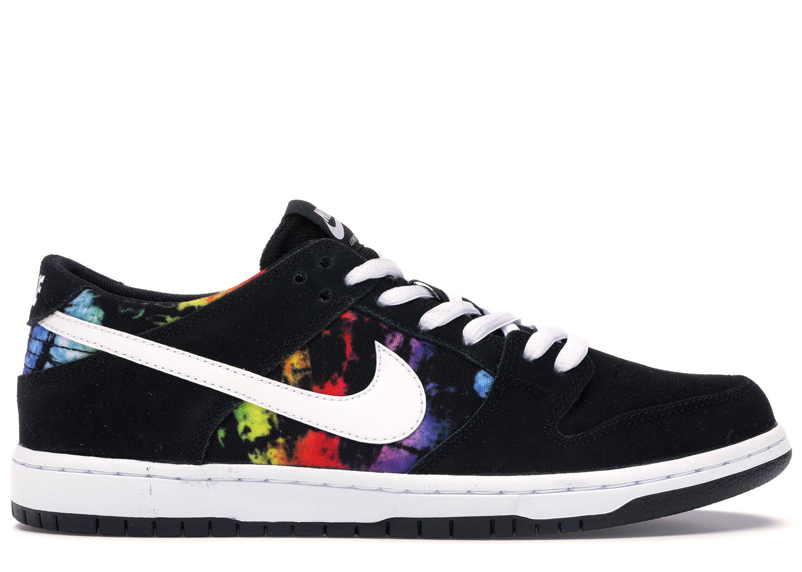 1975e40d Nike Sb Dunk Low Ishod Wair Tie Dye In Black/White-Multi-Color ...