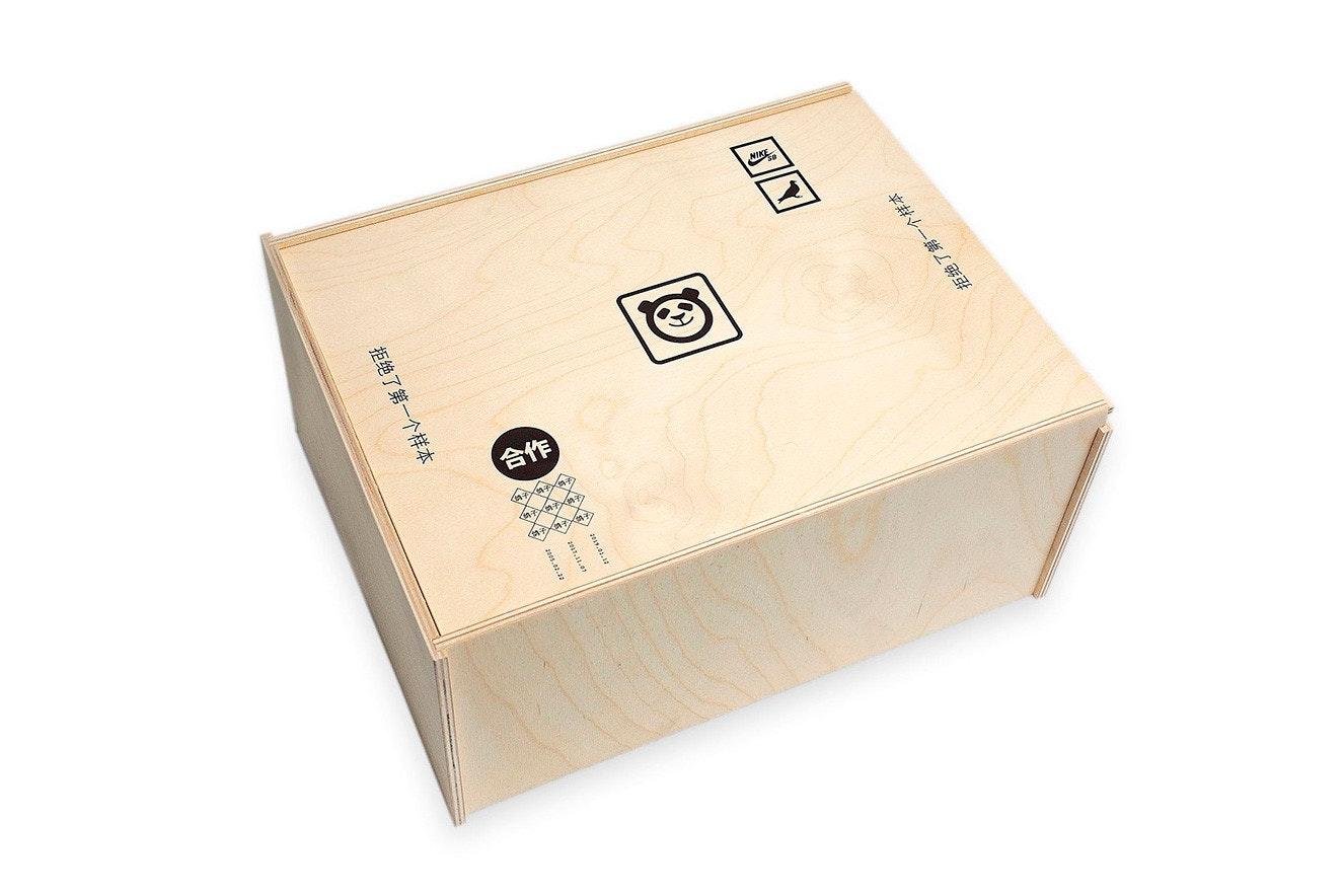 Nike SB Dunk Low Panda Pigeon (Special Box)