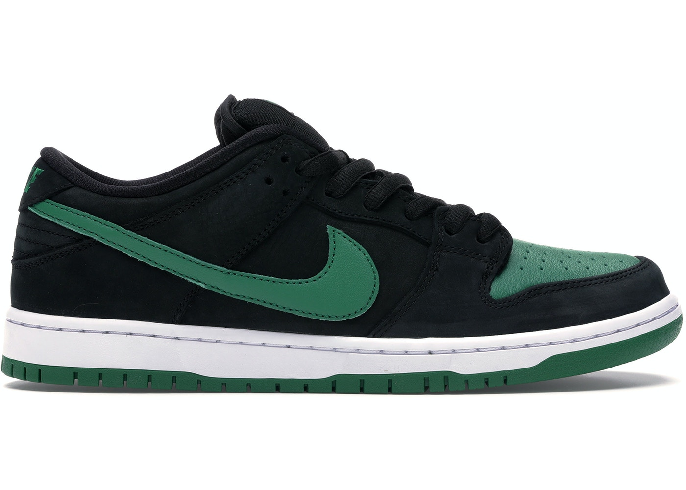 big sale dea5f 6e1f3 Nike SB Dunk Low Pro Black Pine Green