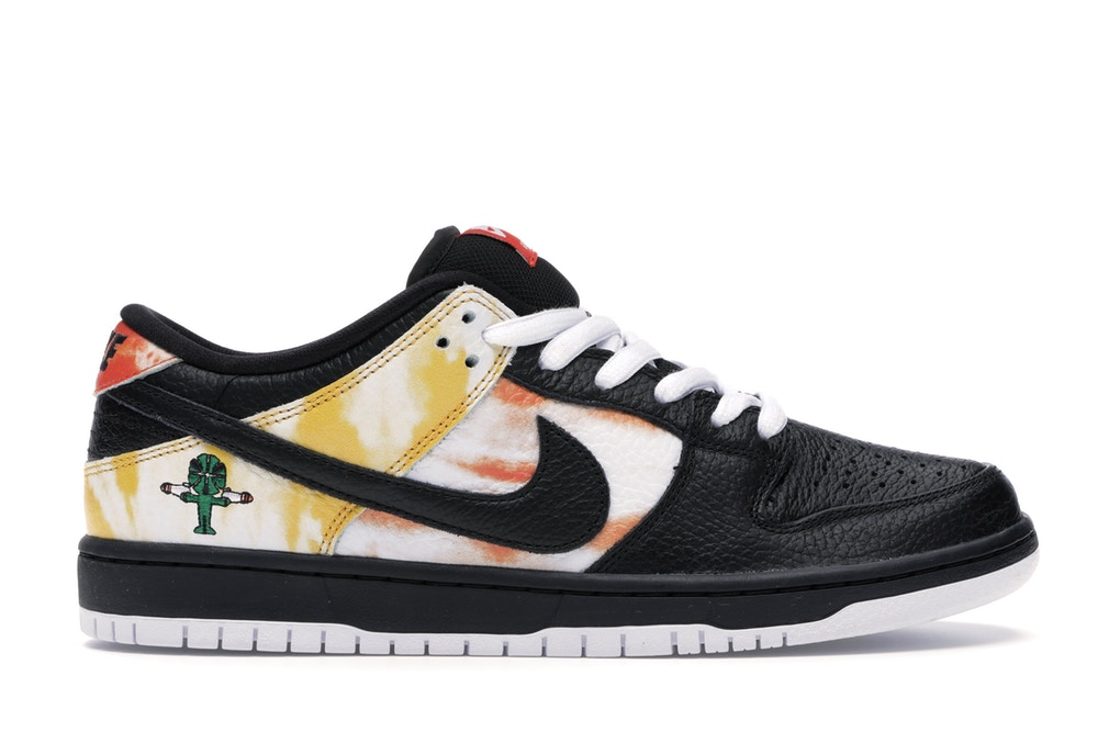 Nike SB Dunk Low Raygun Tie Dye Black