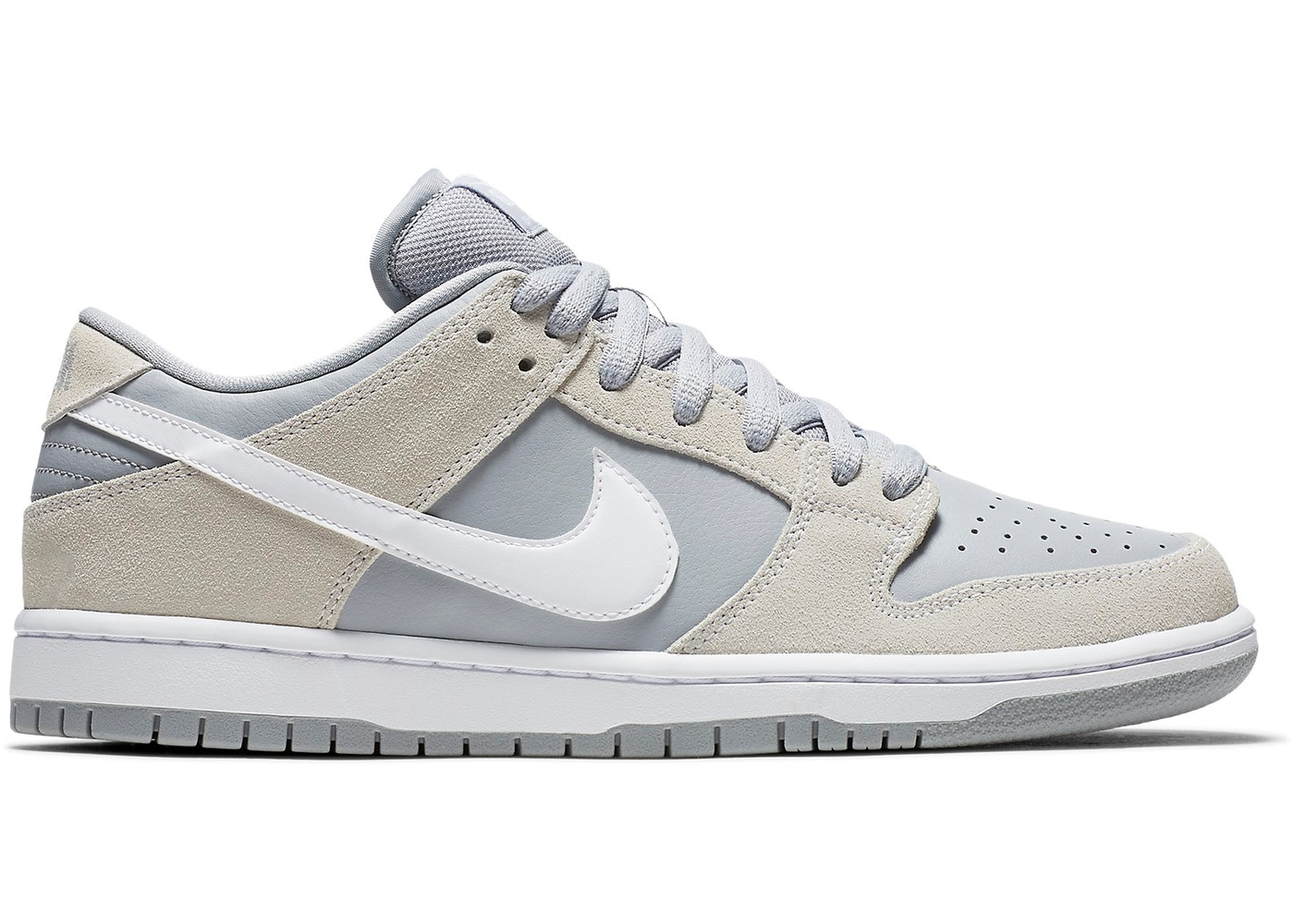 Nike SB Dunk Low Summit White Wolf Grey - AR0778-110 e2b9ab123b3