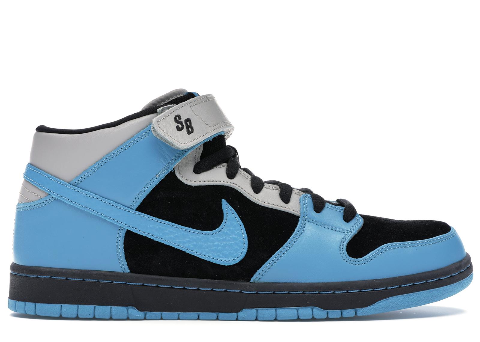 Nike SB Dunk Mid Aqua Fuel Blue