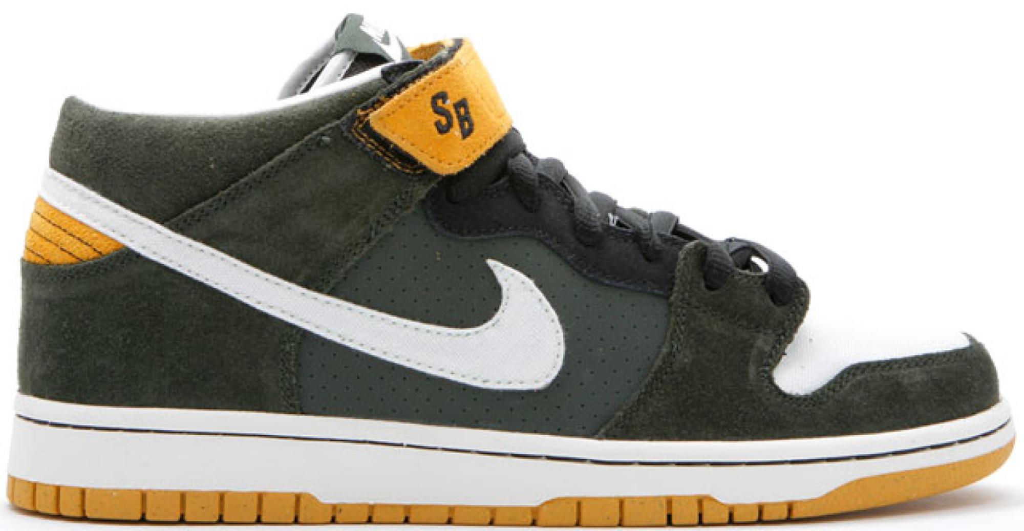 Nike SB Dunk Mid Green Bay Packers