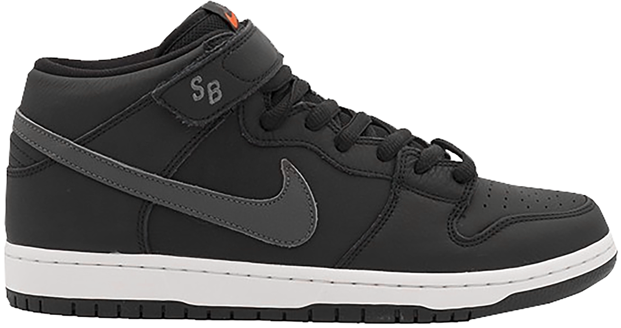 Nike SB Dunk Mid ISO Orange Label Black