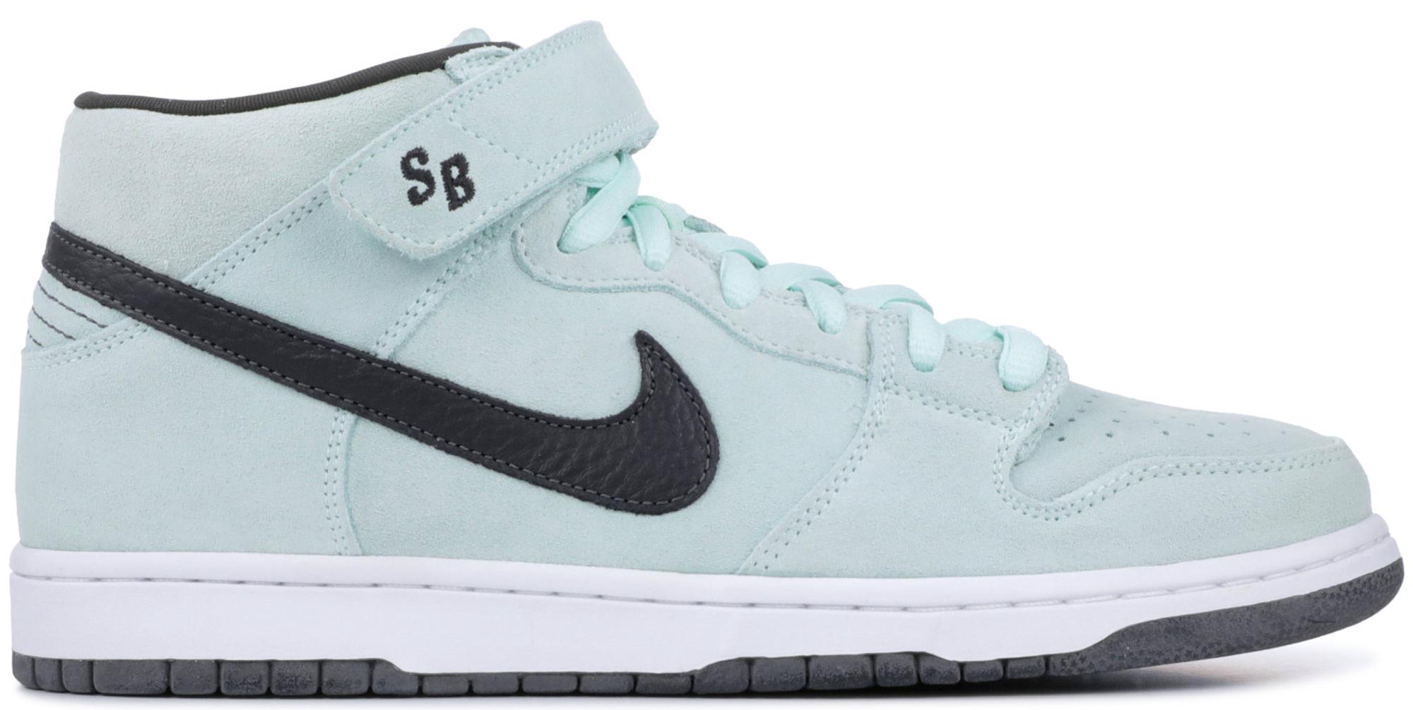 Nike SB Dunk Mid Sea Crystal/Ice Green