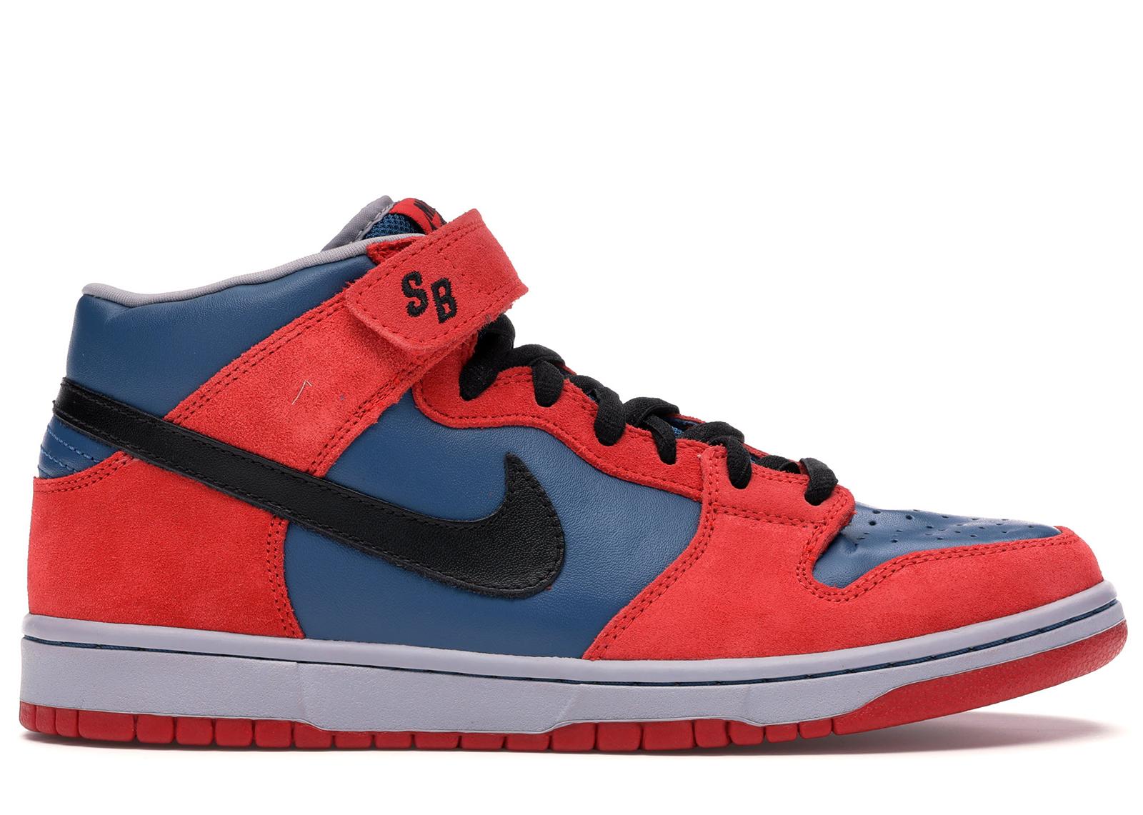 Nike SB Dunk Mid Spider Man - 314383-401