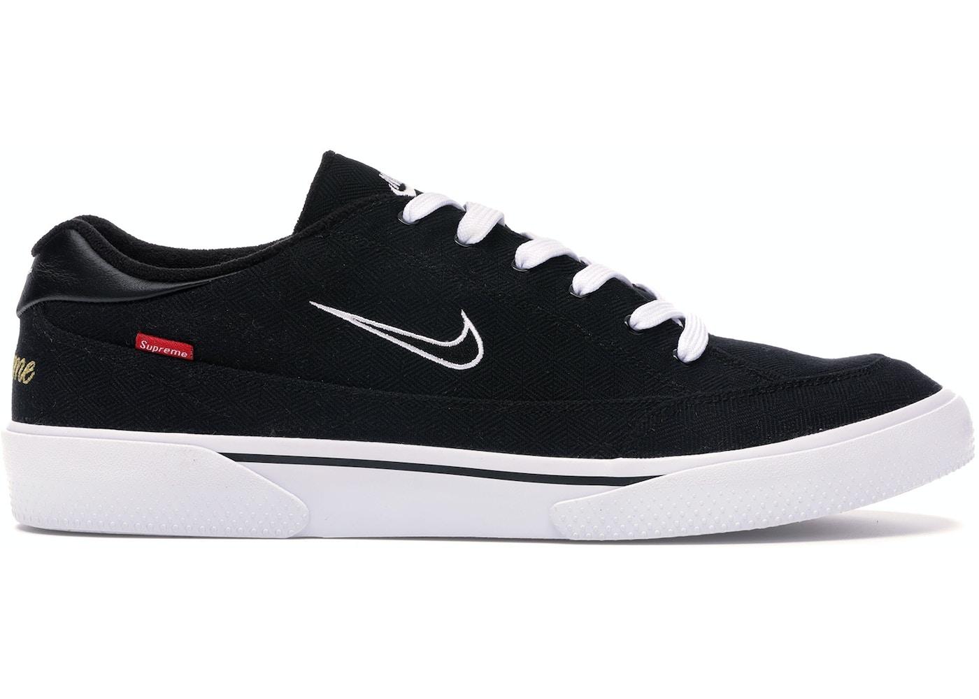 wyprzedaż hurtowa atrakcyjna cena tania wyprzedaż Nike SB GTS Supreme Black