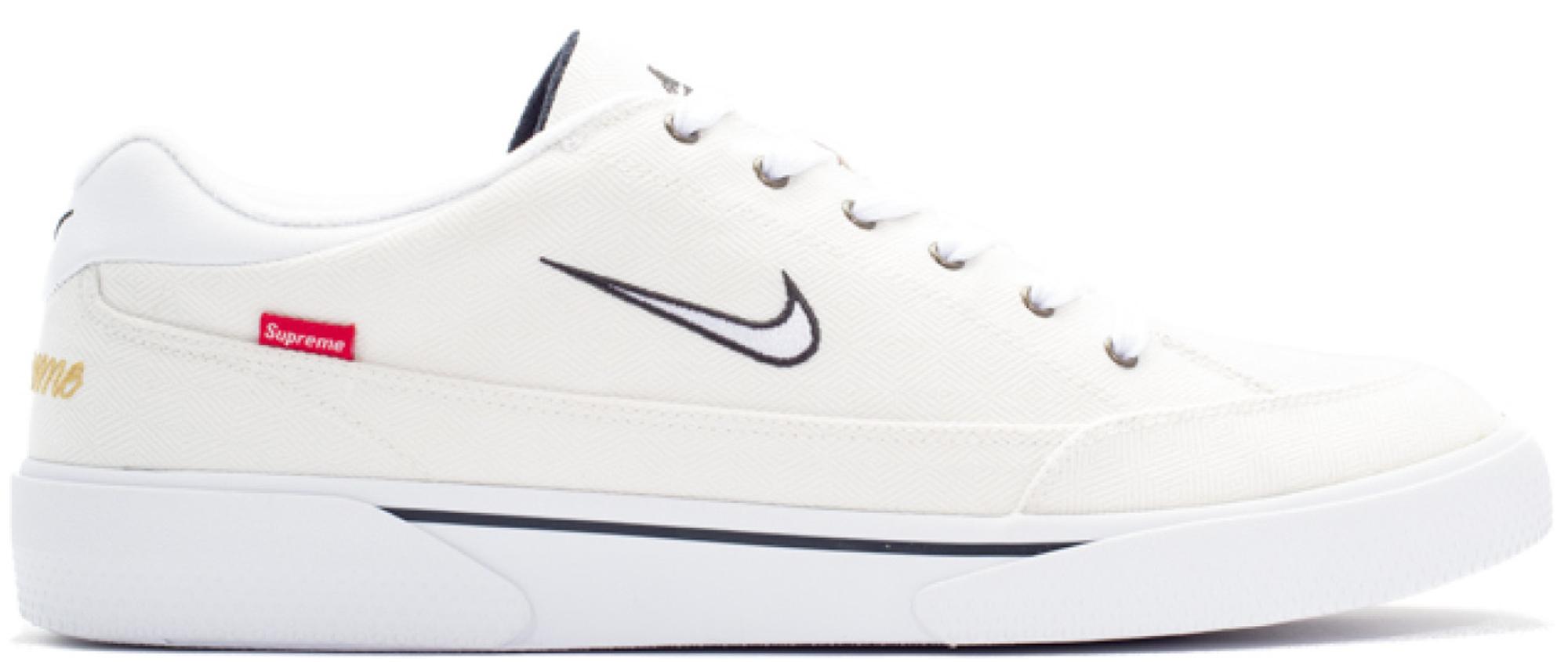 Nike SB GTS Supreme White - 801621-014