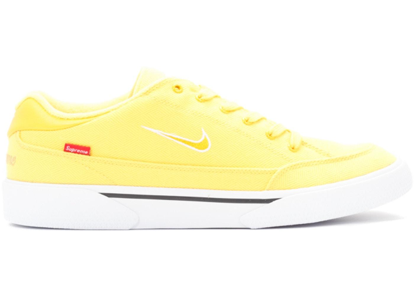niska cena sprzedaży Nowa lista w sprzedaży hurtowej Nike SB GTS Supreme Yellow