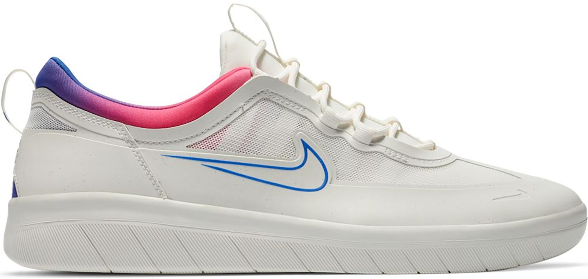 Nike SB Nyjah Free 2 Summit White Pink