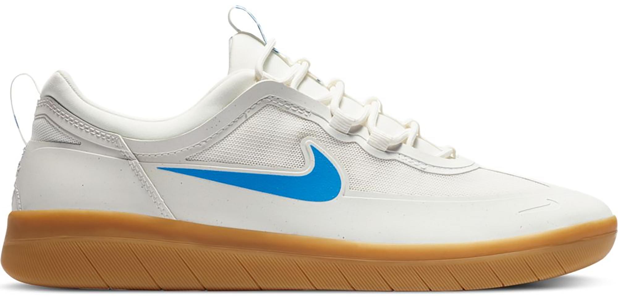 Nike SB Nyjah Free 2 White Light Photo