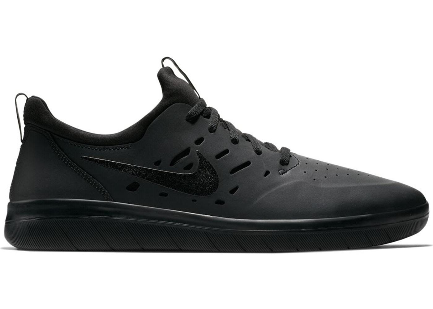 cda7b8f6a869 Nike SB Nyjah Free Triple Black - AA4272-003