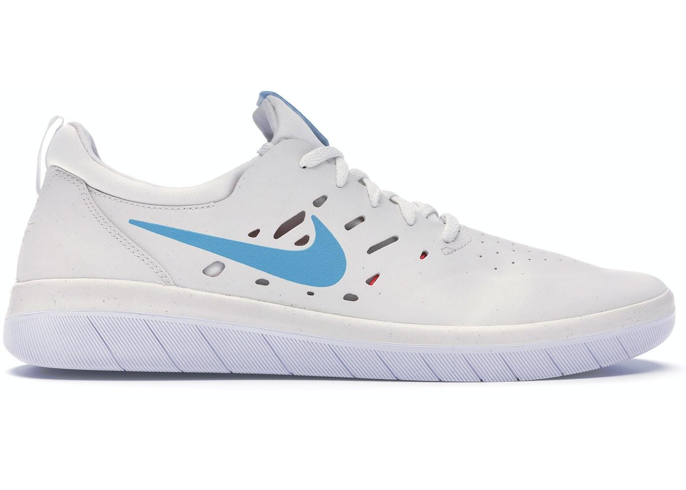 0acd868e5c4 Nike SB Nyjah Summit White Light Blue Fury - AA4272-101