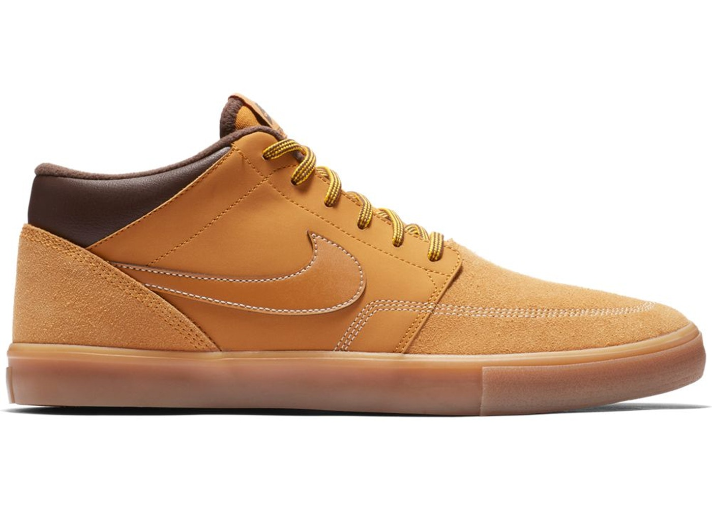 etnico benzina Punto di riferimento  Nike SB Portmore 2 Solarsoft Mid Bronze - AJ6978-779
