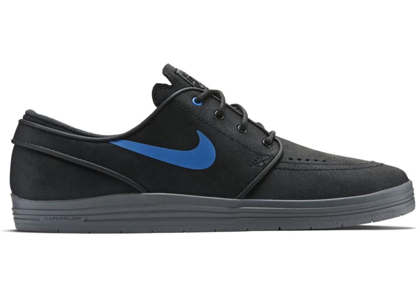 new concept e54c4 72ad6 Nike SB Stefan Janoski Lunar Black Cool Grey - 654857-040