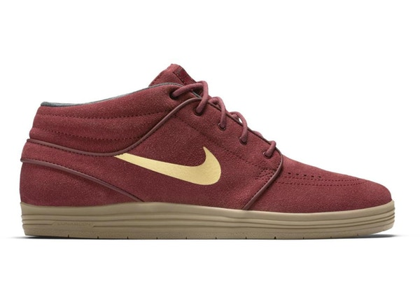 beneficioso Finito prosa  Nike SB Stefan Janoski Lunar Mid Team Red - 683684-670